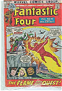 Fantastic Four - Marvel comics - # 117 Dec. 1971 (Image1)