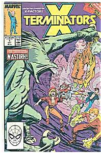 x=Terminators - Marvel comics - # l Octc. 1986 (Image1)