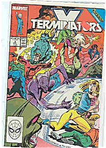 X-Terminators - Marvel comics -  # 3  Dec. 1988 (Image1)