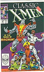 Classic X-Men - Marvel comics - # 25 Sept. 1988 (Image1)