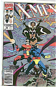 X-Men Classic - Marvel comics - # 58  April 1991 (Image1)