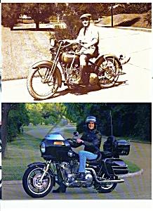 Harley Davidson Motorcycle SALES BROCHURE 1985 8pg (Image1)