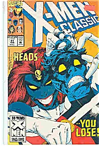 X-Men classic - Marvel comics - # 81  March 1993 (Image1)