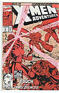 X-Men Adventures - Marvel comics = # 4 Feb1993 (Image1)