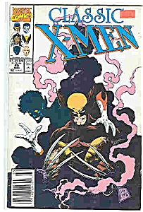 Classic X-Men  - Marvel comics - # 45 March 1990 (Image1)