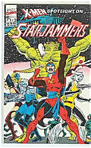 X-Men -StarJammers - Marvel comics - l of 2  1990 (Image1)
