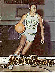 Notre Dame-Davidson Basketball guide Feb 2, l980 (Image1)