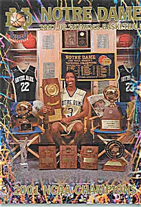 Notre Dame Women's Basketball guide 2001-2002 (Image1)