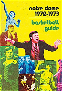 Notre Dame basketball  guide - 1972-1973 (Image1)