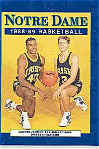 Notre Dame basketball guide 1988-89 (Image1)