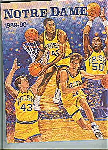 Notre Dame basketball guide 1989-90 (Image1)