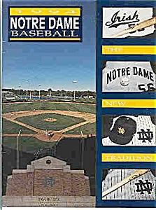Notre Dame baseball guide 1994 (Image1)