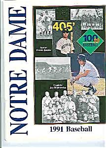 Notre Dame Baseball guide 1991 (Image1)
