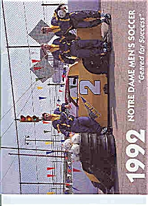Notre Dame men's soccer guide 1992 (Image1)