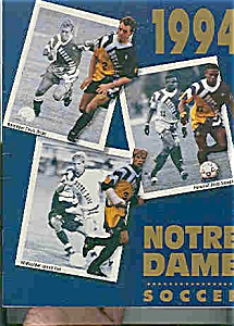Notre Dame men's soccer guide 1994 (Image1)