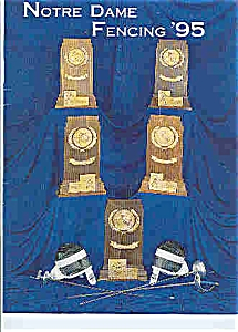 Notre Dame Fencing guide 1995 (Image1)