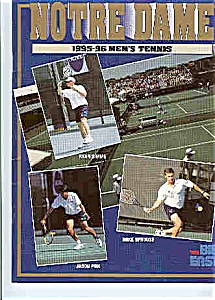 Notre Dame Men's and Women's tennis teams 1995-96 (Image1)