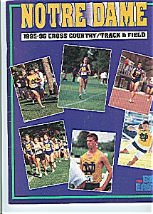 Notre Dame 1995-96 Cross  Country - Track & field (Image1)