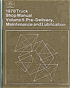 1978 Truck shop manual - Ford (Image1)