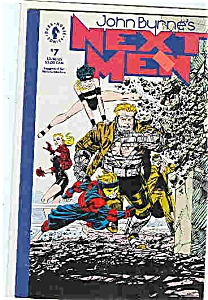 Next Men - DarkHorse comics - # 7  1992 (Image1)