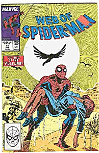 Web of Spider-Man - Marvel comics - # 45 Dec.1988 (Image1)