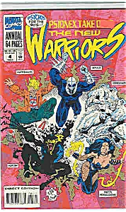 Warriors - Marvel comics - Annual  # 4  1994 (Image1)