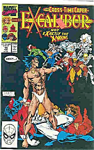 Excalibur - Marvel Comics - # 19 Feb. 1990