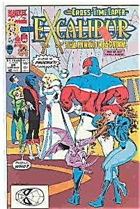 Excalibur - Marvel comics - # 24 July 1990 (Image1)