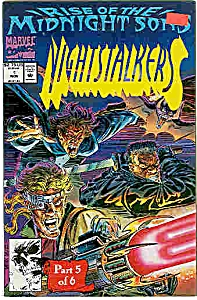 Nightstalkers - Marvel comics - # 1  Nov. 1992 (Image1)