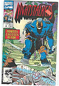 Nightstalkers - Marvel comics - # 3 Jan.1993 (Image1)