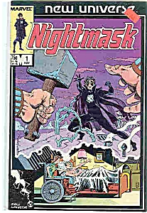 Nightmask - Marvel comics - # l Nov. 1986 (Image1)