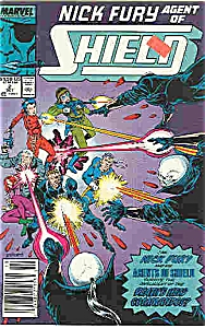 Nick Fury-Shield- Marvel comics - # 2 Oct. 1989 (Image1)