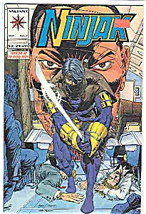 Ninjak - Valiant comics - # 7  Sept. 1994 (Image1)