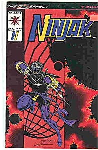 Ninjak - Valiant comics - # 8 Oct. 1994 (Image1)