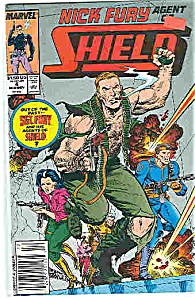 Nick Fury-Shield - Marvel Comics - # 4 Nov. 1989 (Image1)