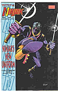 Ninjak - Valiant comics - # 11  Jan. 1994 (Image1)