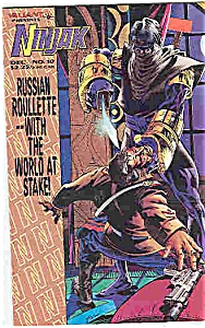 Ninjak - Valiant comics - # 10 Dec. 1994 (Image1)