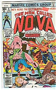Nova - Marvel comics - # 8 April 1977 (Image1)