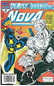 Nova - Marvel comics - # 10  Oct. 1994 (Image1)