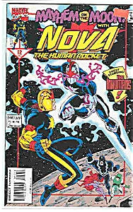 Nova - the Human rocket -  Marvel comics-#12 Dec.94 (Image1)