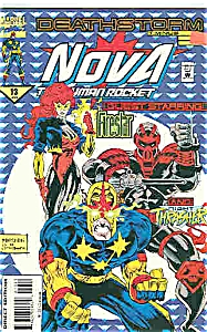 Nova - Marvel comics - # 13  Jan.   1995 (Image1)