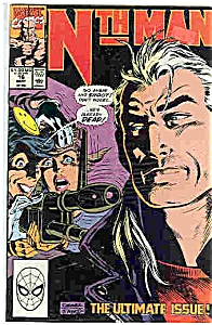 Nth Man - Marvel comics - # 16 Sept. 1990 (Image1)