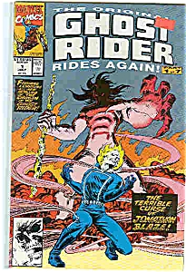 Ghost Rider - Marvel comics - July 1,1991 (Image1)