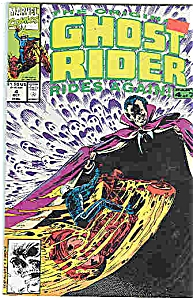 Ghost Rider - Marvel Comics # 4 Oct. 1991