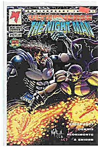 The Night Man - Malibu Comics - # 12 -1994