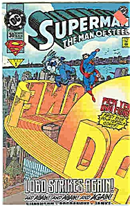 Superman  - DC comics - # 30  Feb. 1994 (Image1)