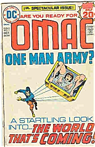 Omac - one man army DC comics-# `1 - Oct. 1974 (Image1)