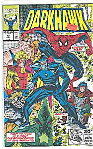 Darkhawk - Marvel comics - # 19  Sept.  1992 (Image1)