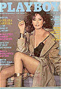 Playboy Magazine  - march 1982 (Image1)