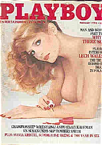 Playboy Magazine - February 1982 (Image1)
